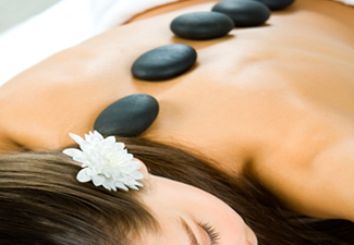 hot stone massage Tremblant, spa Mont Tremblant